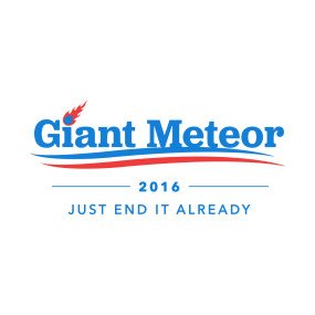 Election day meteor