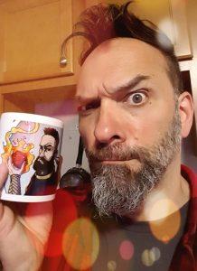 my mug on a mug