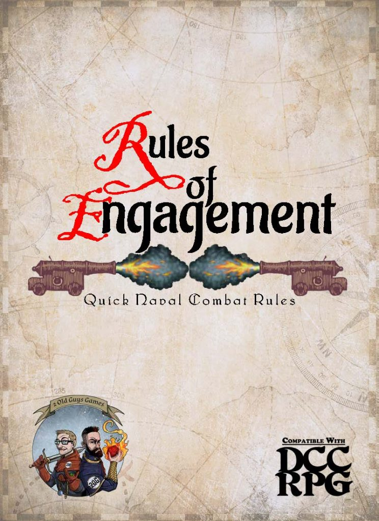 Rules of Engagement, Quick RPG Naval Combat